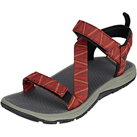 Columbia Wave Train Sandalen Heren rood